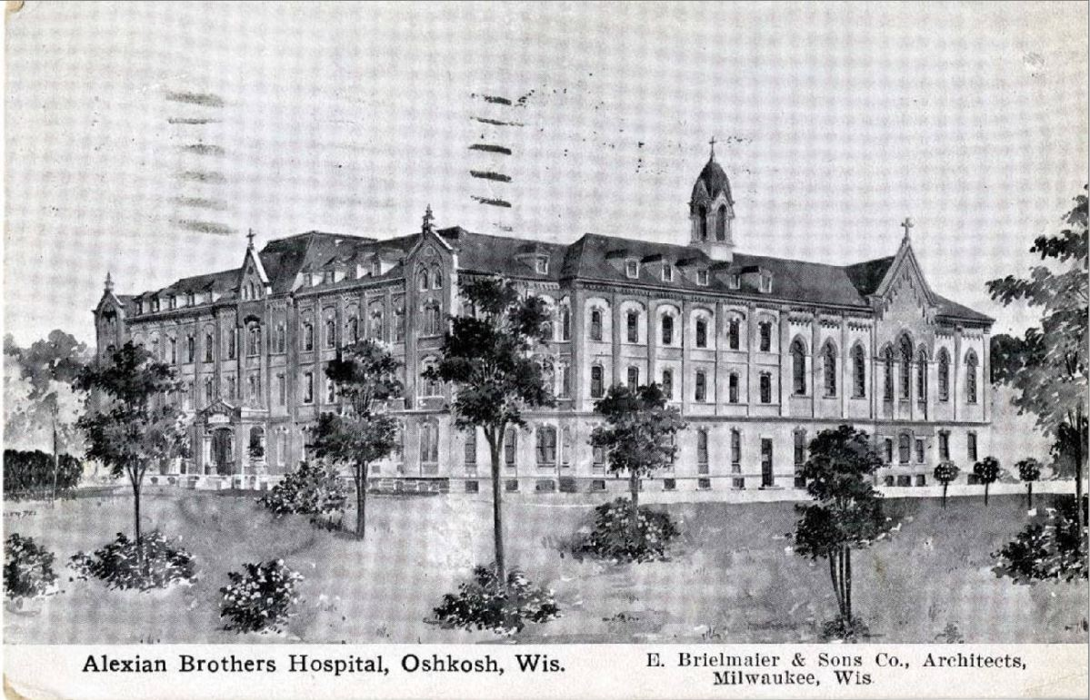 Oshkosh's first hospital: Alexian Brothers