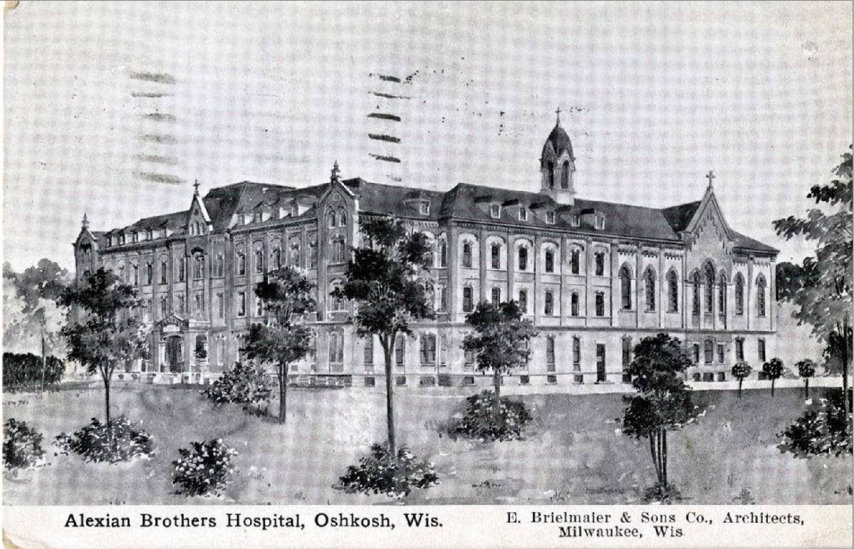 Oshkosh's first hospital: AlexianBrothers