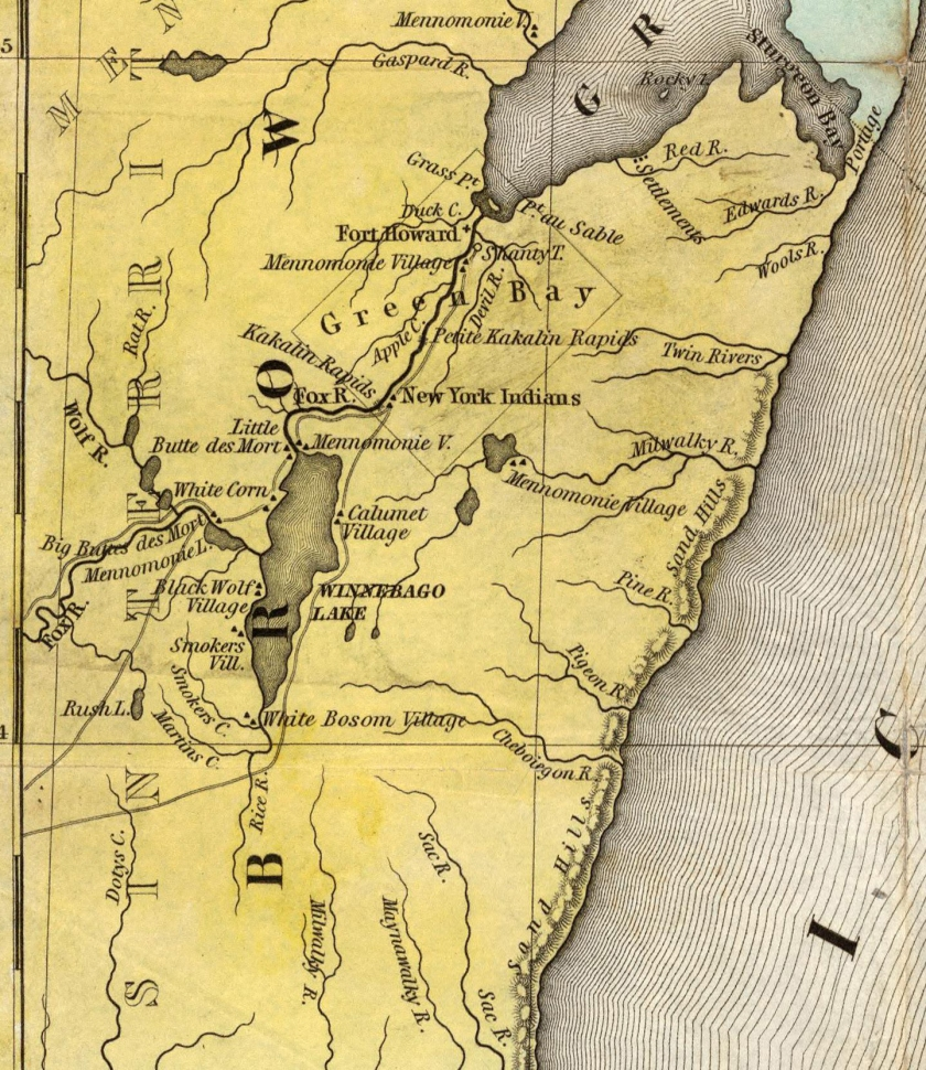 corner map